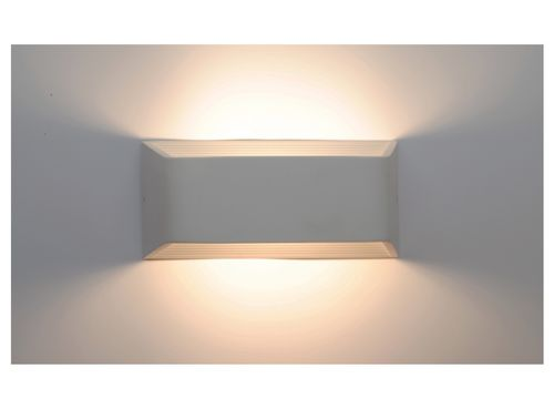 APLIQUE LED DE PARED VISION BLANCO 6W 3000K  MODELO 1